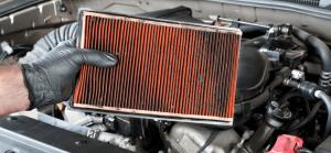 Kotornya Filter Udara Mesin Mobil